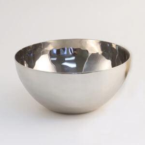 Hand Hammered Stainless Steel Bowls – Round
