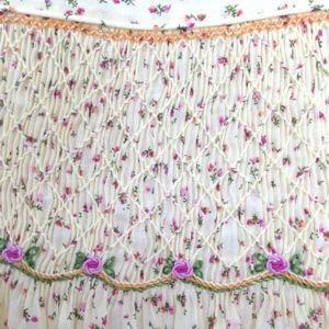 Cotton Lawn Floral on Ecru Dress