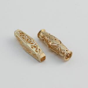 Gold Katah – Cambodian Prayer Beads