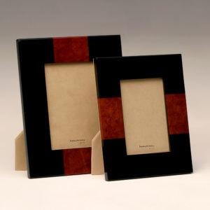 Black and Burl Frame