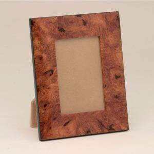 Natural Burl Wood Frames