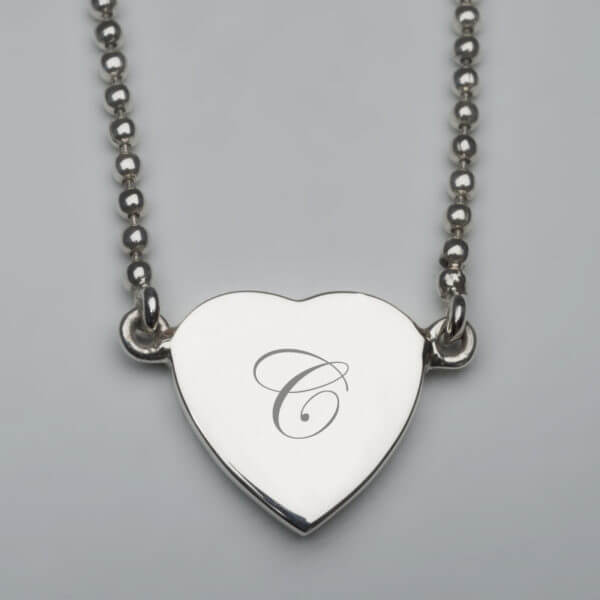ISSH sterling pendant on fixed bead chain 800x800 pixels