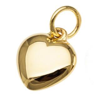 """Puff Heart"" Pendants/Charms"