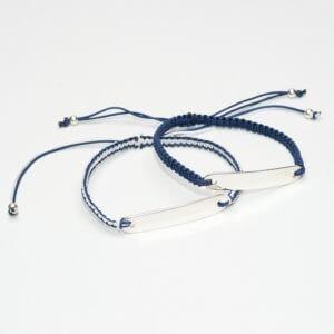 Sterling Silver Name Bracelet