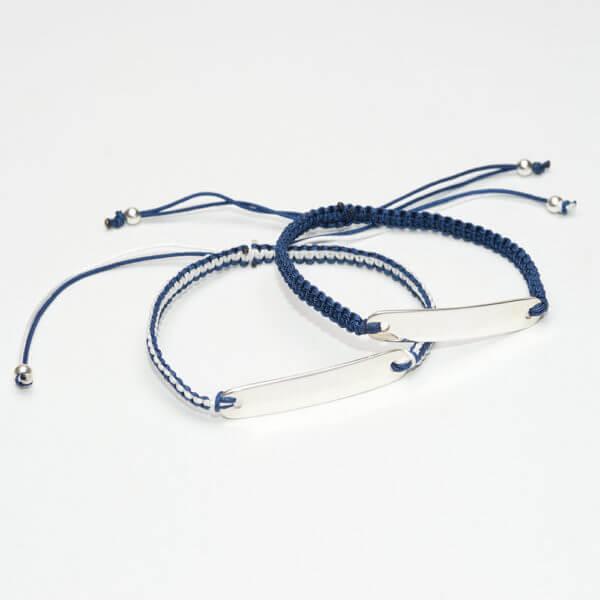 dark blue ID braceletsWP