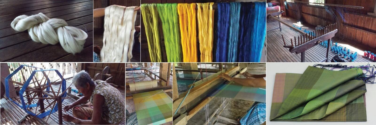 photo array fo silk weavers on About Us page or product page copy copy