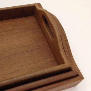 Butler Style Wooden Trays