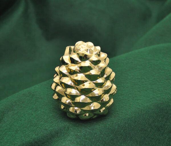 Gold pine cone850
