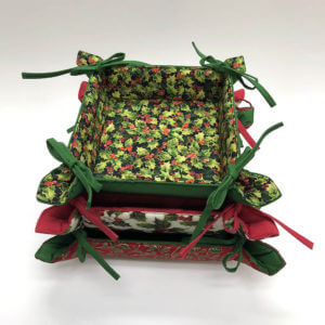 Quilted Cotton Holiday Trays