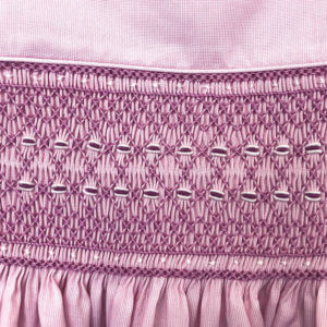 Pink Pinstripe Sleeveless Dress