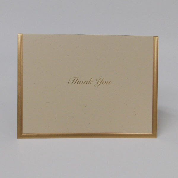 22Professional22 Thank you note card on natural 1000 pixels