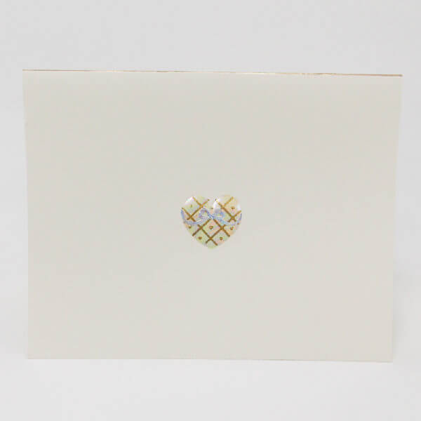 Iridescent Heart note card II 1000 pixels