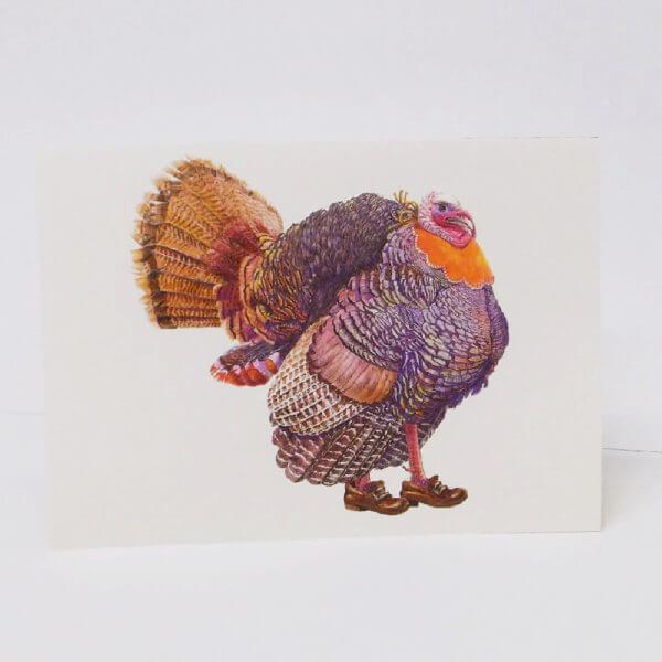 turkey Thanksgiving card 1000 pixels 1