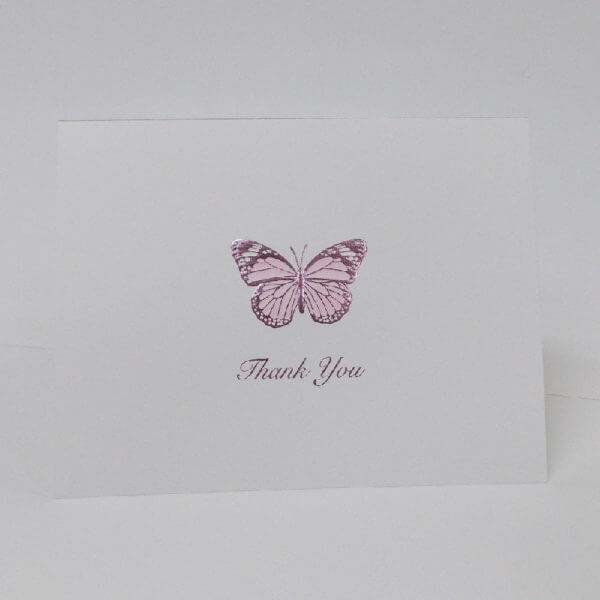 lavender butterfly 22Thank you22 note card 1000 pixels 1
