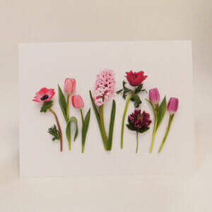 Bottle Branch® note card – Spring Garden Flowers