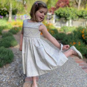 Lavender Petite Petals Dress